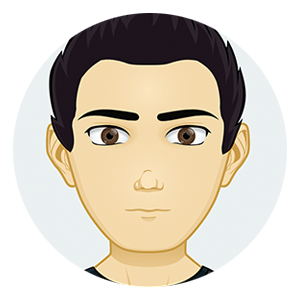 Cartoon avatar of Warren Yen